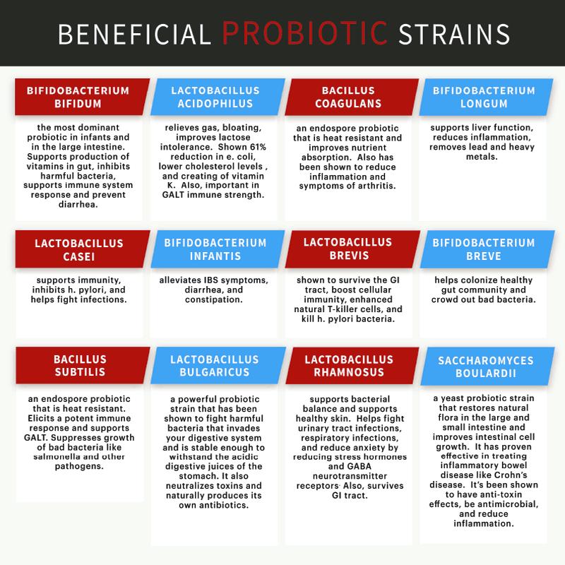 probiotics-chart